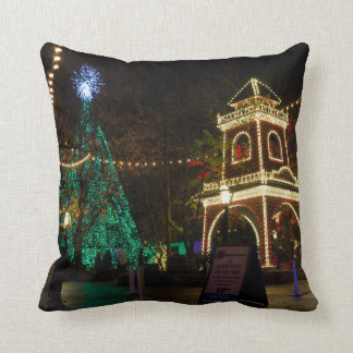 Christmas At Silver Dollar City Cushion