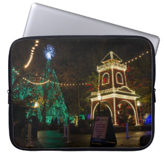Christmas At Silver Dollar City Laptop Sleeve