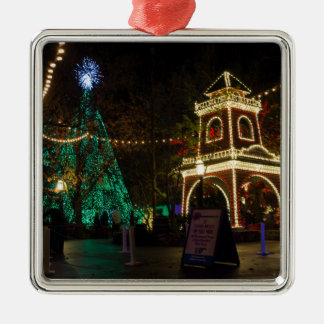 Christmas At Silver Dollar City Metal Ornament