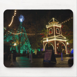 Christmas At Silver Dollar City Mouse Pad