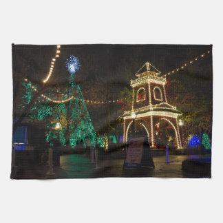 Christmas At Silver Dollar City Towel