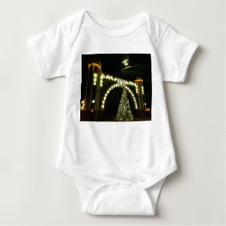 Christmas at the Band-shell Baby Bodysuit