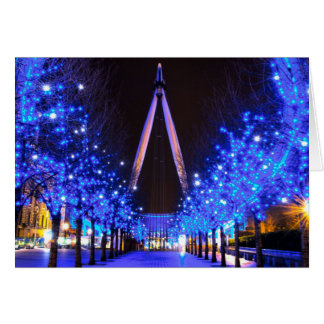 Christmas at the London Eye Greeting Cards