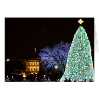 Christmas at the White House Card