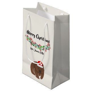 Christmas Australian Animals Design Small Gift Bag