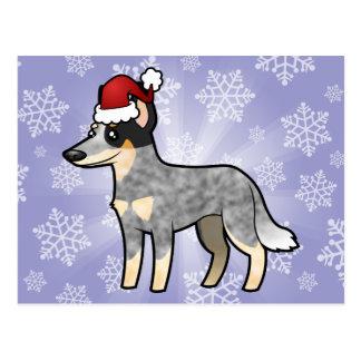 Christmas Australian Cattle Dog Kelpie Post Card