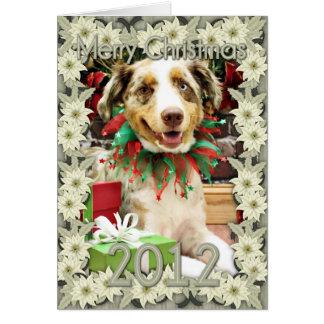 Christmas - Australian Shepherd - Cash Card