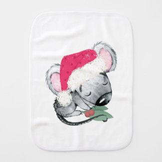 Christmas Baby Mouse Burp Cloth