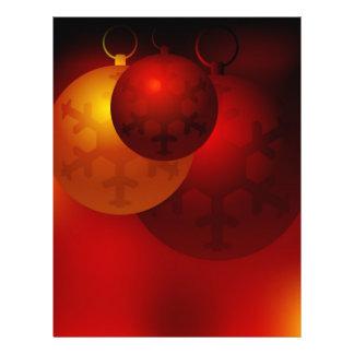 Christmas Background Flyer Design