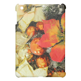 Christmas background iPad mini case