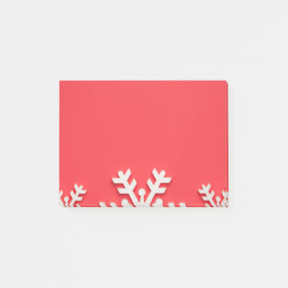 Christmas Background Post-it Notes