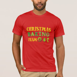 Christmas Backing Team T-Shirt