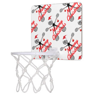 Christmas Badminton Cartoon Mini Basketball Hoop