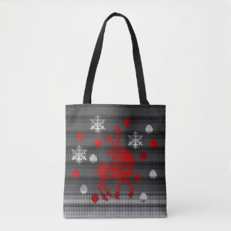 Christmas Bags Festive Holiday Tote Bags