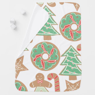 Christmas Baking Print Baby Blanket