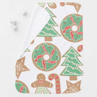 Christmas Baking Print Baby Blanket