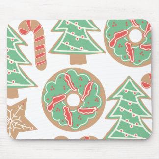 Christmas Baking Print Mouse Pad