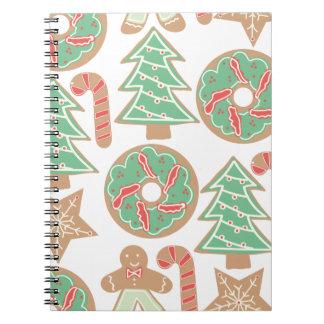 Christmas Baking Print Notebook