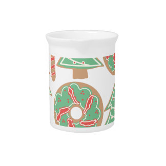 Christmas Baking Print Pitcher