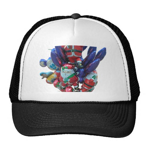 Christmas balloons trucker hat