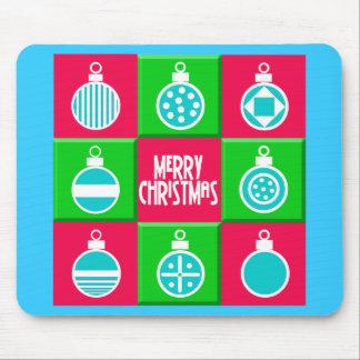 Christmas Balls Mouse Pad