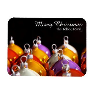 Christmas' Balls - Personalized Christmas Magnet