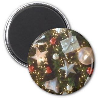 Christmas balls/Xmas Baubles 6 Cm Round Magnet