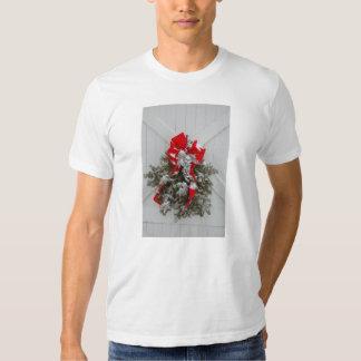 Christmas Barn Wreath Shirt