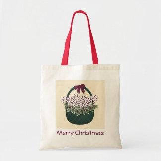 Christmas Basket Gift Bag