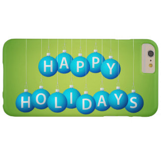 Christmas bauble barely there iPhone 6 plus case