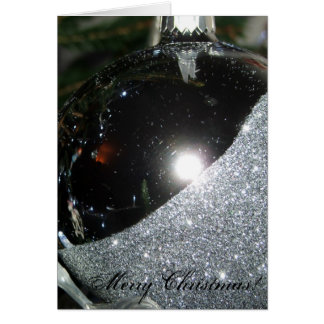 Christmas Bauble Greetings Card