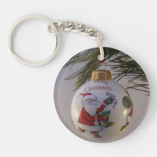 Christmas Bauble Key Ring