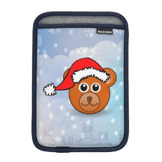 Christmas Bear iPad Mini Sleeves