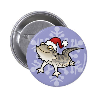 Christmas Bearded Dragon / Rankins Dragon Button
