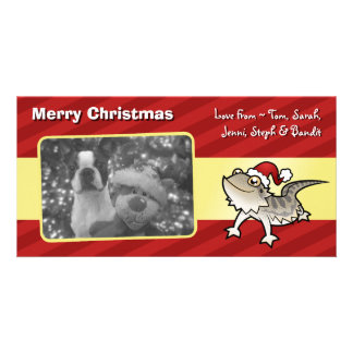 Christmas Bearded Dragon / Rankins Dragon Picture Card