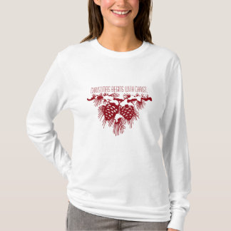 CHRISTMAS BEGINS WITH CHRIST Christmas Quote T-Shirt