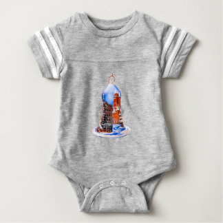 Christmas Bell #5 Baby Bodysuit