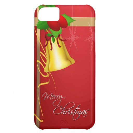 Christmas Bell and Ribbon Case For iPhone 5C