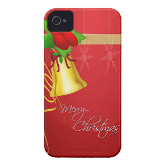 Christmas Bell and Ribbon iPhone 4 Case