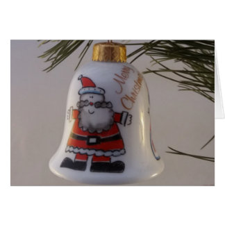 Christmas Bell Bauble Card