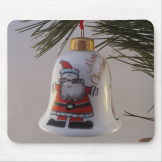 Christmas Bell Bauble Mouse Pad