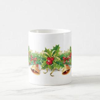 Christmas Bell Garland Basic White Mug