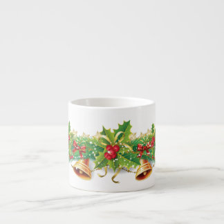 Christmas Bell Garland Espresso Cup