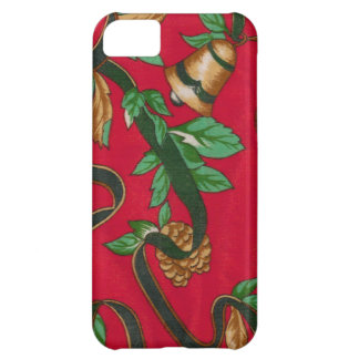 Christmas Bells and Pine Cones iPhone 5C Cover
