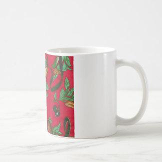 Christmas Bells and Pine Cones Coffee Mug