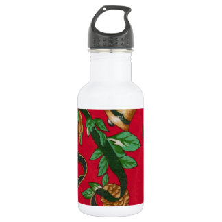 Christmas Bells and Pine Cones 532 Ml Water Bottle