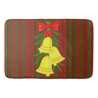 Christmas Bells Bath Mat