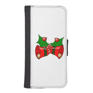 Christmas bells clipart iPhone 5 wallet cases
