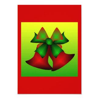 Christmas Bells II 5x7 Paper Invitation Card