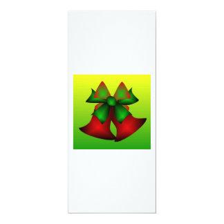 Christmas Bells III 4x9.25 Paper Invitation Card